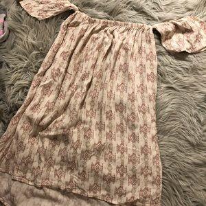 Billabong shoulder sleeve dress